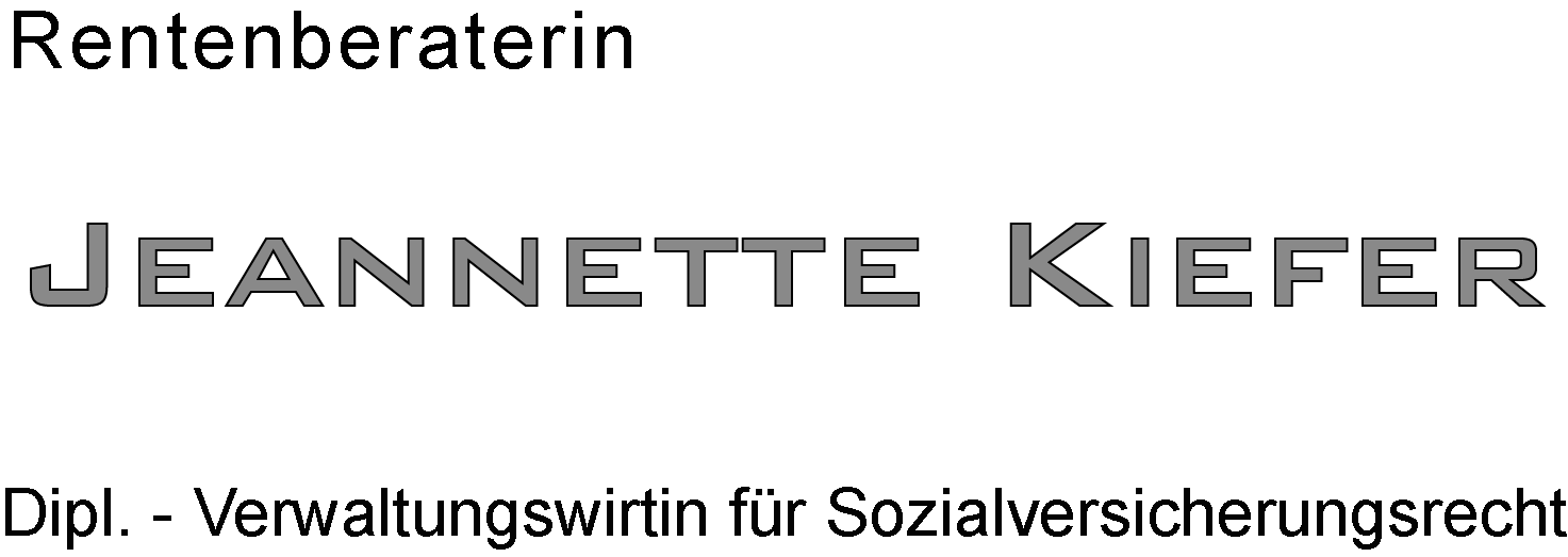 Rentenberatung-Berlin.de ı Jeannette Kiefer